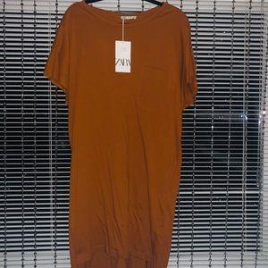 Z A R A TShirt Dress NWT SzM